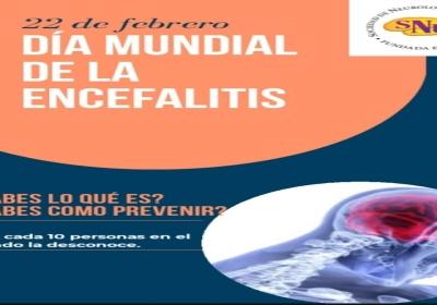 22 DE FEBRERO: DÍA INTERNACIONAL DE LA ENCEFALITIS